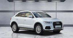 Audi Q3 2,0 TDI Teilleder, Navi, LED, 17 Alu, Drive Sel